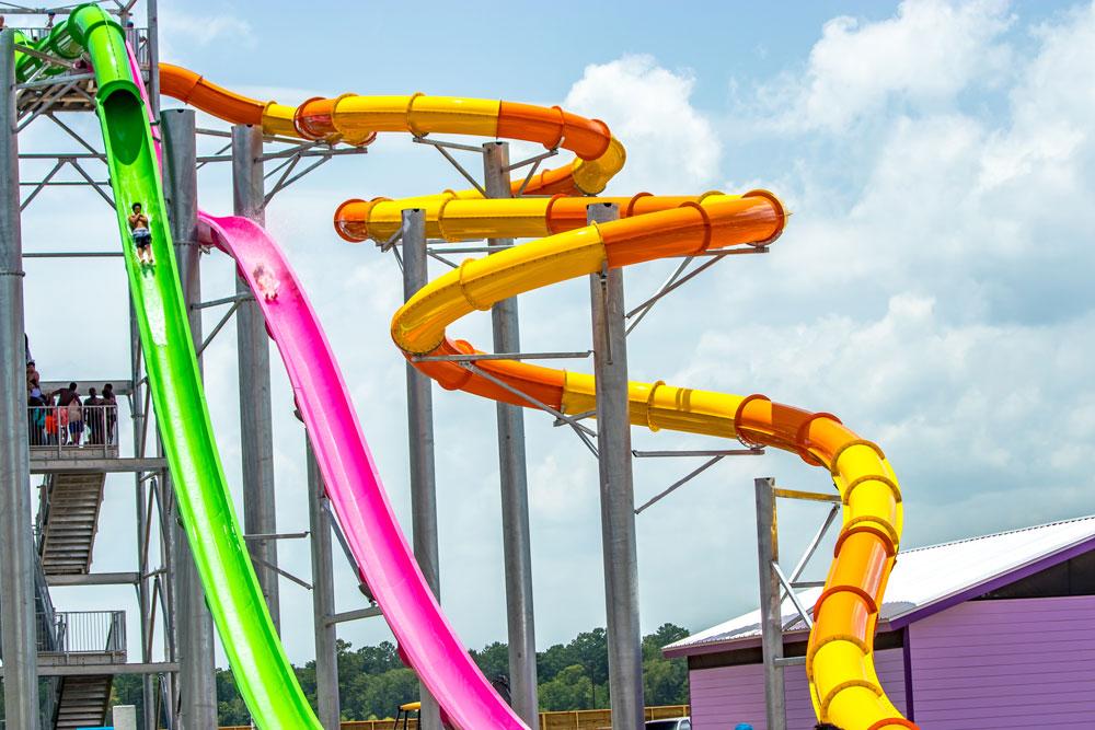 Three Slides of Frio Falls